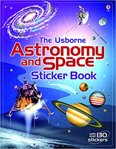 Usborne Astronomy and Space Sticker Book - Paperback