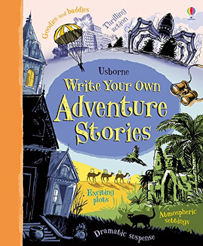 Usborne Write Your Own Adventure Stories - Hardback