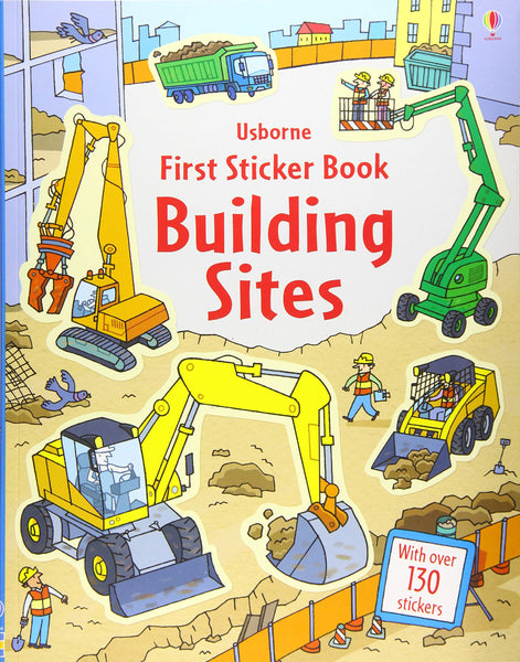 First Sticker Book : Building Sites - Paperback