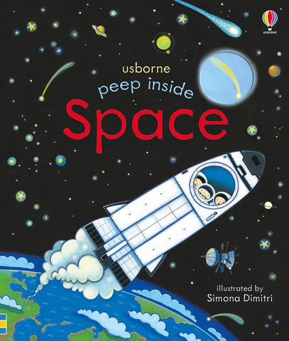 Usborne : Peep Inside Space - Kool Skool The Bookstore