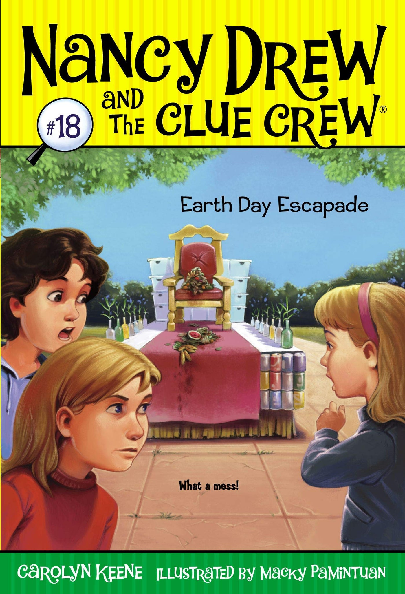 Nancy Drew And The Clue Crew #18 : Earth Day Escapade - Paperback