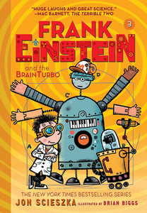 Frank Einstein #3 : Frank Einstein and the BrainTurbo - Paperback - Kool Skool The Bookstore