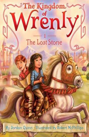 The Kingdom of Wrenly #1 : The Lost Stone - Kool Skool The Bookstore