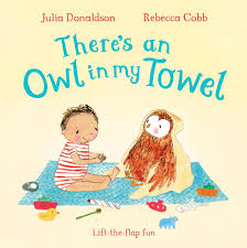 There's an Owl in My Towel - Board Book - Kool Skool The Bookstore