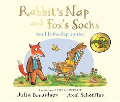 Tales from Acorn Wood: Fox's Socks and Rabbit's Nap - Lift the Flap - Kool Skool The Bookstore