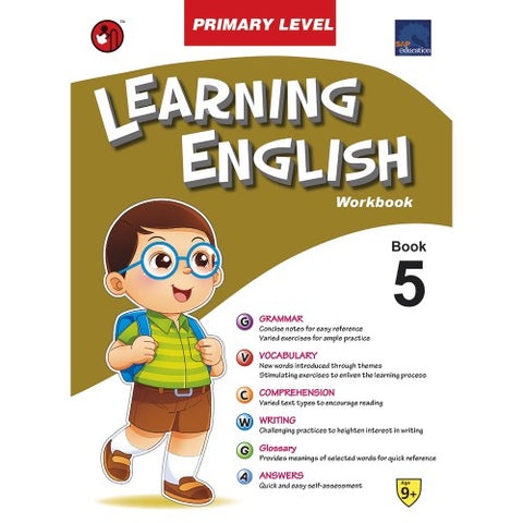 SAP Learning English Workbook Primary Level 5 - Paperback - Kool Skool The Bookstore