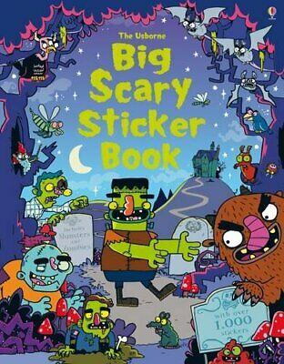 Big Scary Sticker Book - Paperback