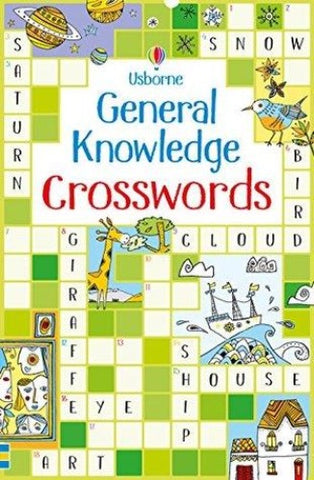Usborne General Knowledge Crosswords - Kool Skool The Bookstore