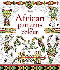 African Patterns to Colour - Paperback