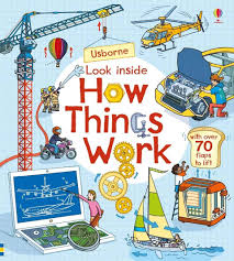 Usborne Lift the Flap : Look Inside How Things Work - Kool Skool The Bookstore