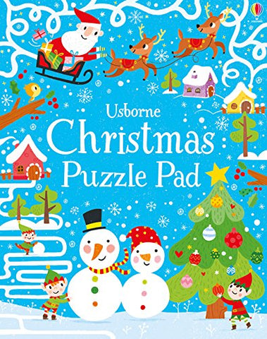 Christmas Puzzles Pad - Paperback
