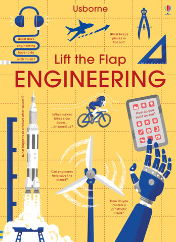 Usborne Lift the Flap Engineering - Kool Skool The Bookstore