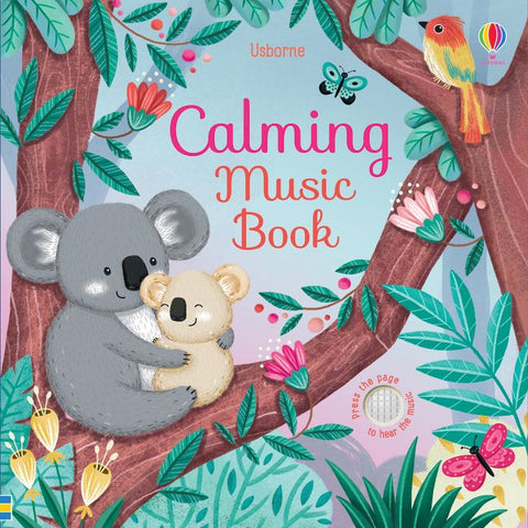 Usborne Calming Music Book - Sound Book - Board Book