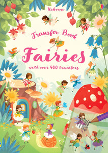 Fairies Transfer Activity Book - Paperback