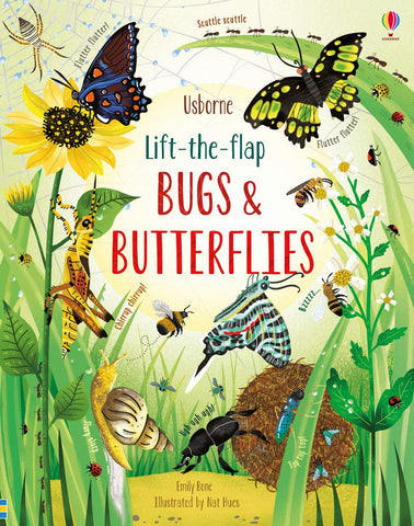 Usborne Lift-the-Flap Bugs and Butterflies - Kool Skool The Bookstore