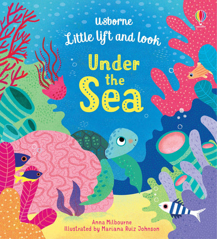 Usborne : Little Lift and Look Under the Sea - Kool Skool The Bookstore