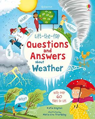 Usborne Lift the Flap : Questions and Answers About Weather - Kool Skool The Bookstore