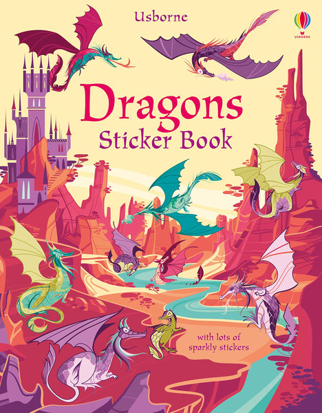 Dragons Sticker Book - Paperback