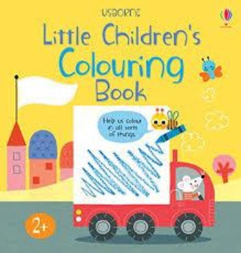 Little Children's Colouring Book - Paperback