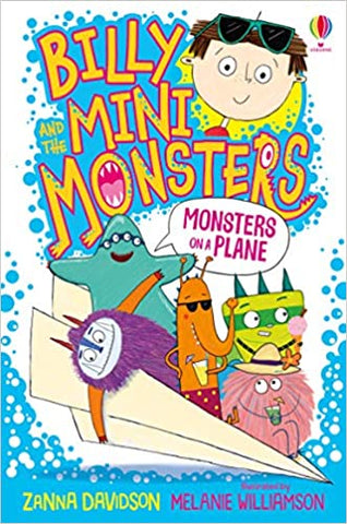 Billy and the Mini Monsters : Monsters on A Plane - Paperback