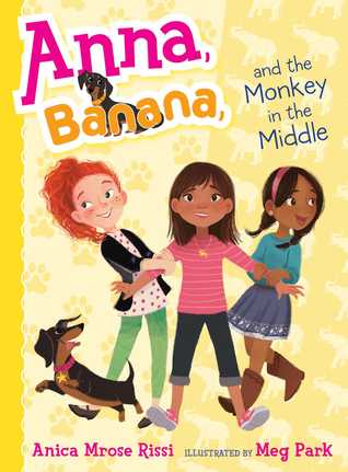 Anna Banana #2 : Anna Banana and the Monkey in the Middle - Paperback - Kool Skool The Bookstore