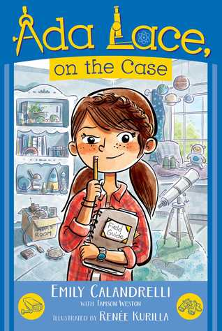 Ada Lace Adventures #1 : Ada Lace, on the Case - Paperback - Kool Skool The Bookstore
