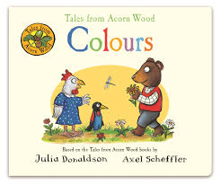 Tales from Acorn Wood: Colours - Board Book - Kool Skool The Bookstore