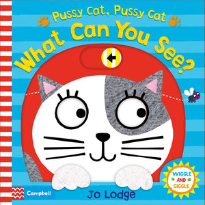 Wiggle and Giggle : Pussy cat, pussy cat, what can you see? - Kool Skool The Bookstore