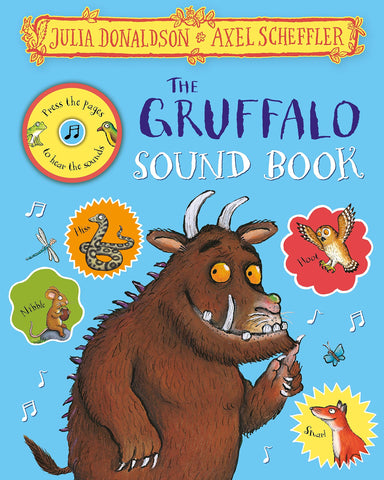 The Gruffalo Press-the-Page Sound Book - Hardback - Kool Skool The Bookstore