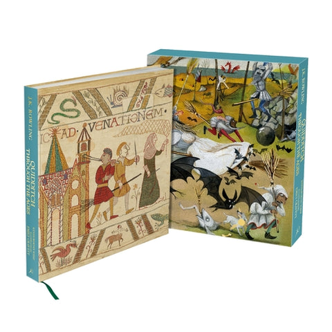 Pre-Order : Quidditch Through the Ages - Illustrated Edition: Deluxe Illustrated Edition - Hardback