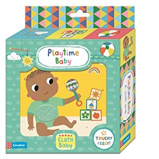 Playtime Baby: A Cloth Book - Kool Skool The Bookstore