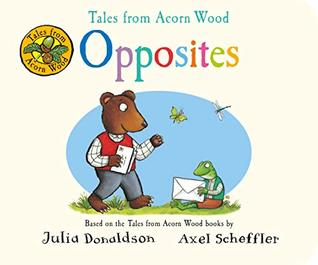 Tales from Acorn Wood: Opposites - Board Book - Kool Skool The Bookstore
