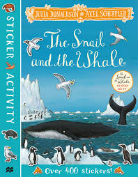 The Snail and the Whale Sticker Book - Paperback - Kool Skool The Bookstore