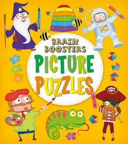 BRAIN BOOSTERS PICTURE PUZZLES - Kool Skool The Bookstore