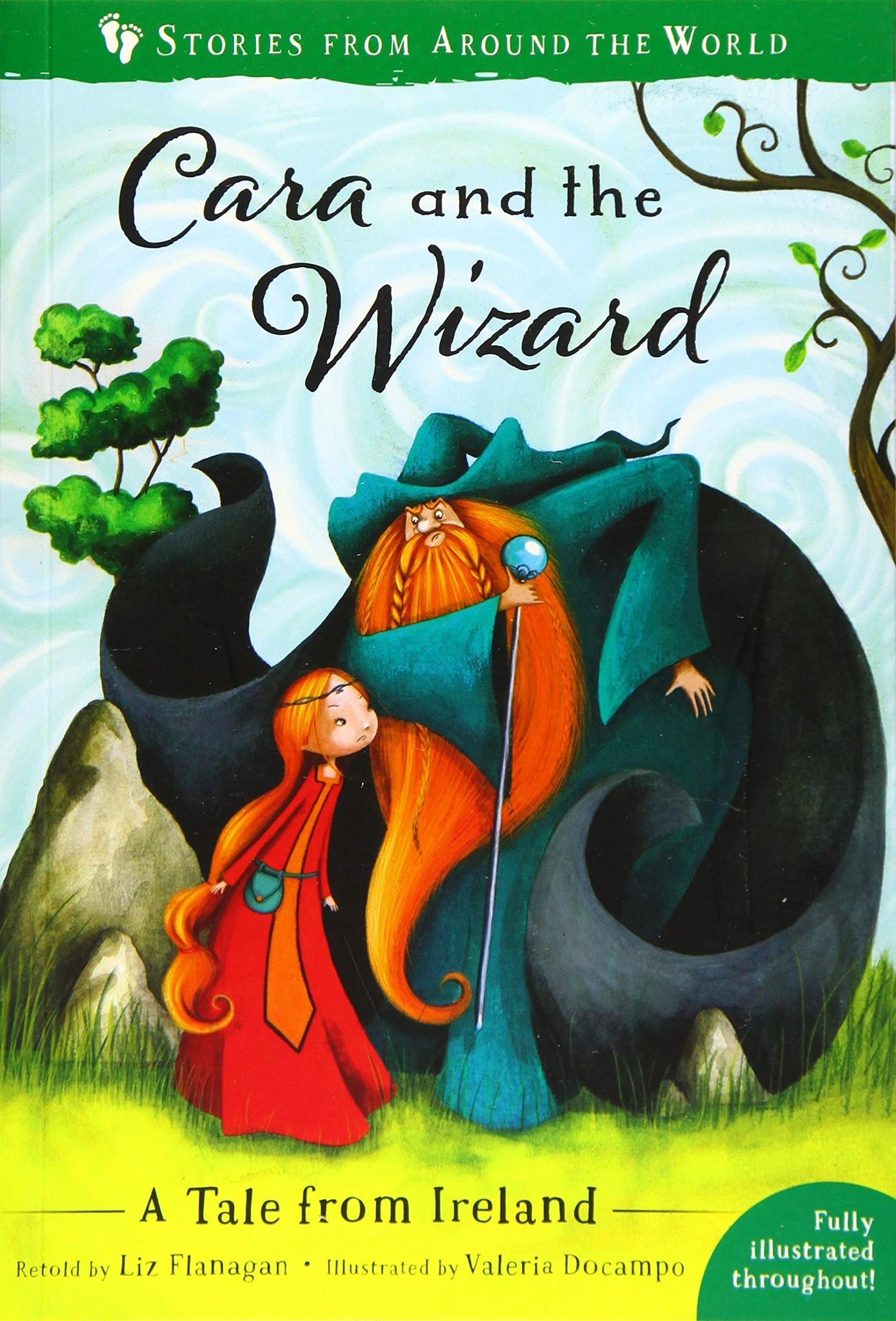 Stories from Around the World : Cara and the Wizard - A Tale from Ireland - Kool Skool The Bookstore