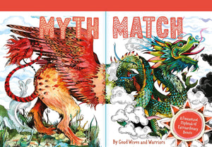 Myth Match: A Fantastical Flipbook of Extraordinary Beasts - Hardback - Kool Skool The Bookstore