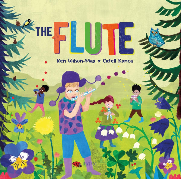 The Flute - Hardback - Kool Skool The Bookstore