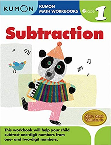 Kumon : Grade 1 Subtraction - Paperback
