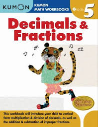 Kumon Workbooks Decimals & Fractions Grade 5 - Paperback