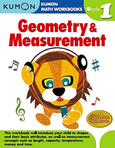 Kumon Workbooks Geometry & Measurement Grade 1 - Paperback