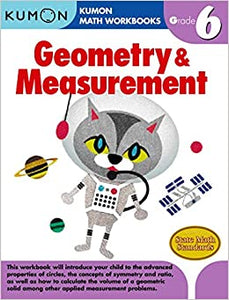 Kumon Workbooks : Grade 6 Geometry & Measurement - Paperback