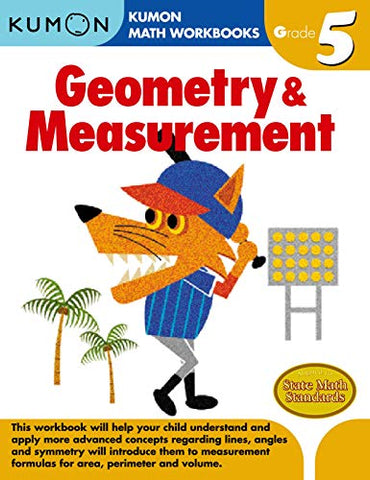 Kumon Workbooks : Geometry & Measurement ( Grade 5 ) - Paperback