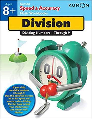 Kumon Workbooks : Dividing Numbers (Speed & Accuracy) - Paperback