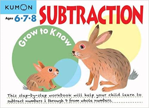 Kumon Workbooks : Subtraction (Ages 6.7.8) - Paperback
