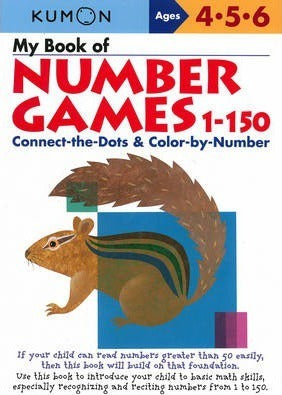 Kumon Workbook : My Book of Number Games 1-150 - Paperback