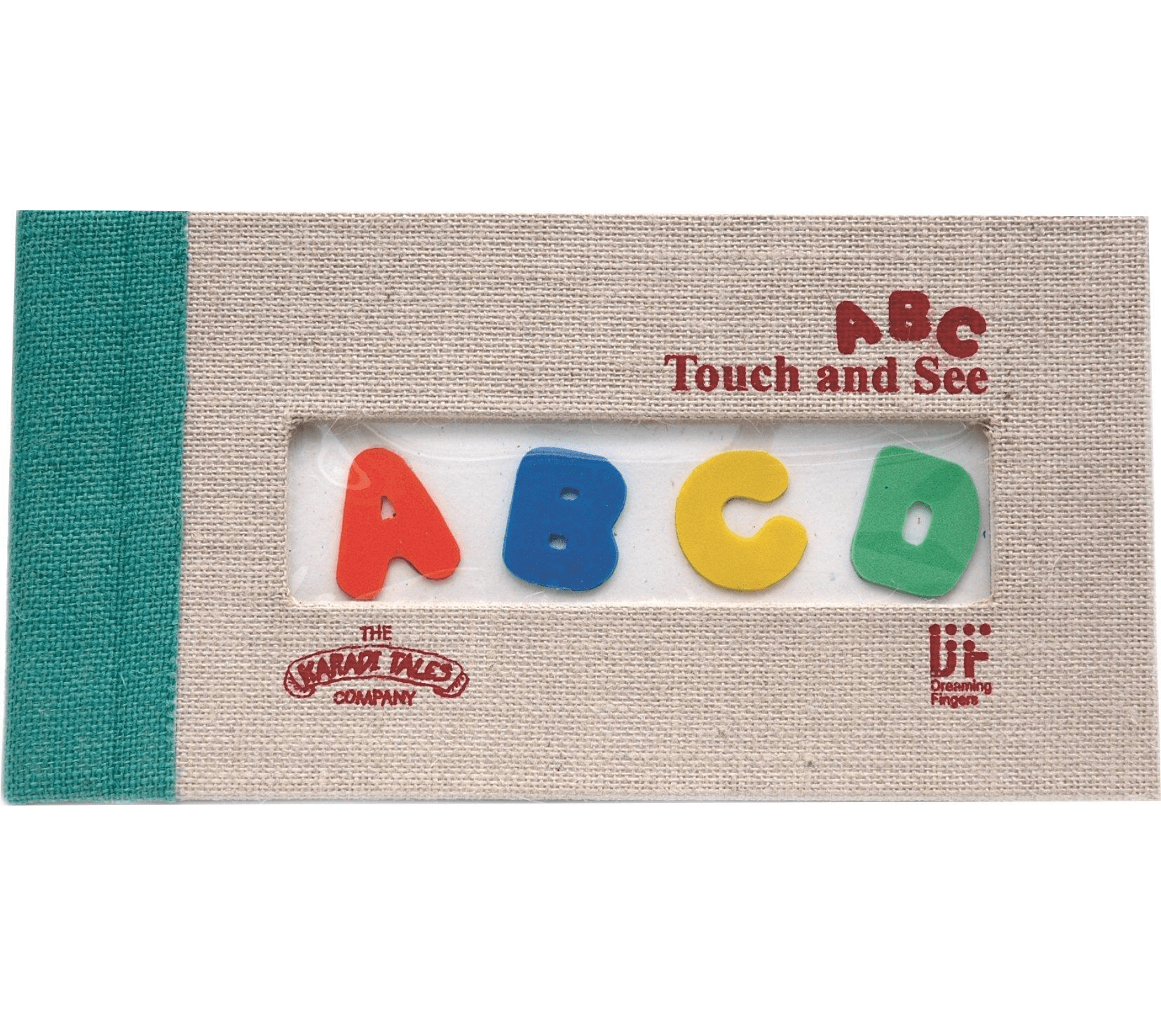 ABC Touch and See: Tactile Picture Book - Kool Skool The Bookstore