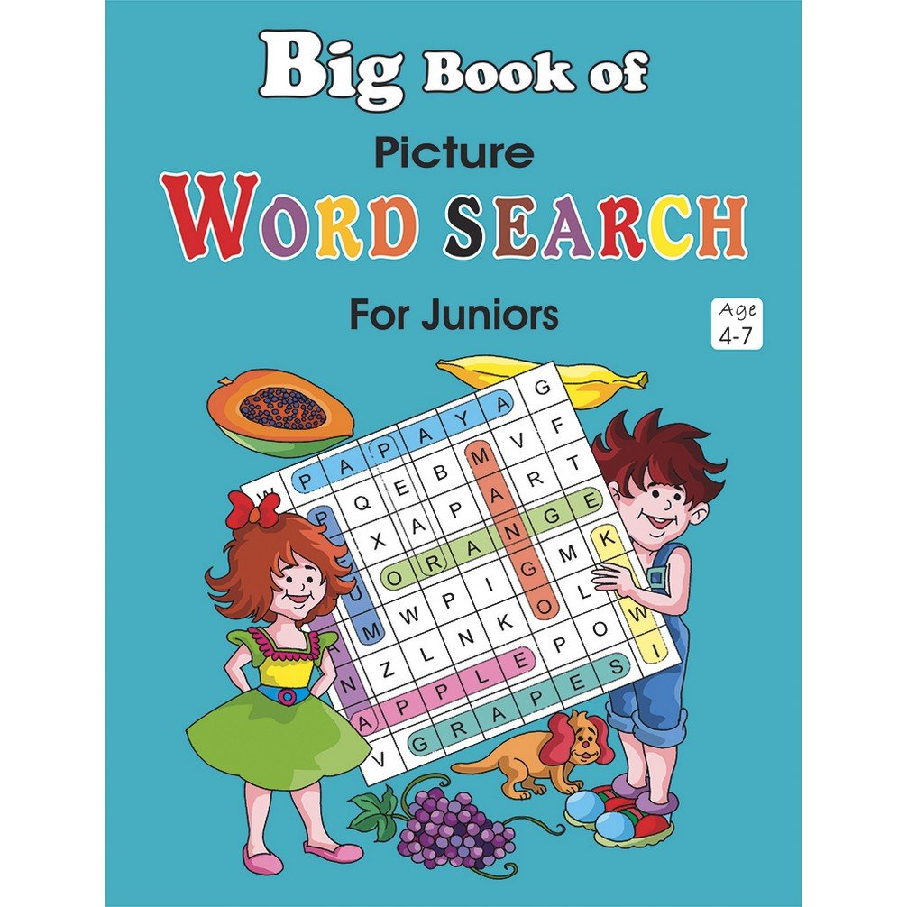 Big Book of Picture Word Search for Juniors - Kool Skool The Bookstore