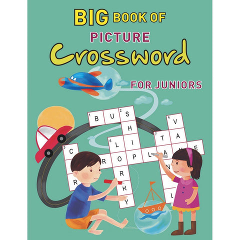 Big Book of Picture Crossword for Juniors - Kool Skool The Bookstore