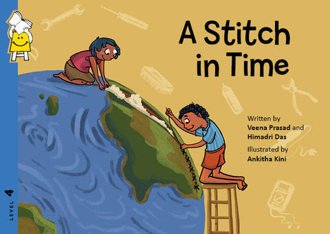 Pratham Lev 4 : A Stitch in Time - Kool Skool The Bookstore