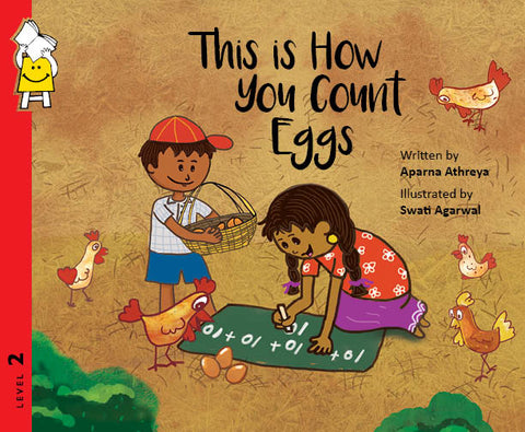 Pratham Lev 2 : This is how you Count Eggs - Kool Skool The Bookstore